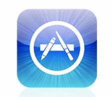 Logo of the Apple iPhone App Store