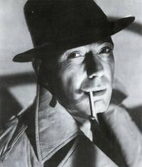 Humphrey Bogart as private detective Sam Spade