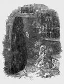 John Leech, The Last Spirit/Dickens' Christmas Carol - Public Domain, courtesy of Wikimedia Commons