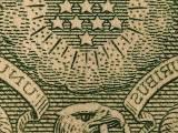Dollar closeup, courtesy of Jon Sullivan and Wikimedia Commons