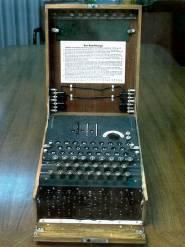 WWII German Enigma Coding Machine