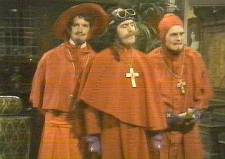 "Monty Python's Memorable ""No one Expects the Spanish Inquisition!"" Vignette"