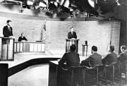 Kennedy - Nixon Debate, 1960.  Courtesy Wikimedia Commons