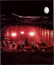 Moon Base Clavius - 2001, A Space Odyssey