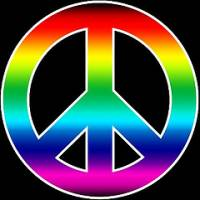 Peace Symbol, courtesy of The Road to the Horizon at http://www.theroadtothehorizon.org/2008/04/news-peace-symbol-turns-50-are-we-any.html