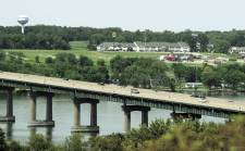 Rte. 280 crossing the Mississippi