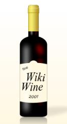 Wiki Wine Bottle, courtesy Nevit Dilmen/Wikimedia Commons