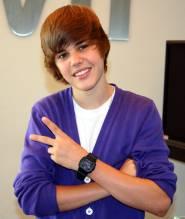 Canadian pop star Justin Bieber